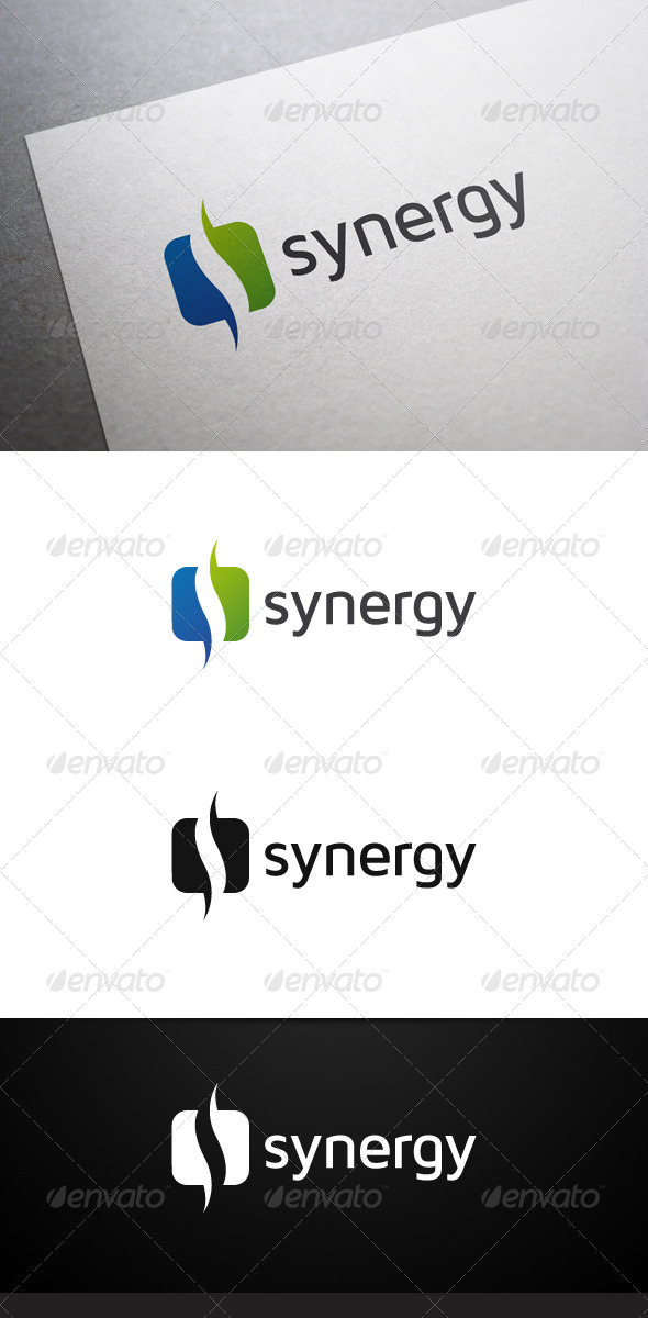 Synergy Logo - Abstract Logo Templates