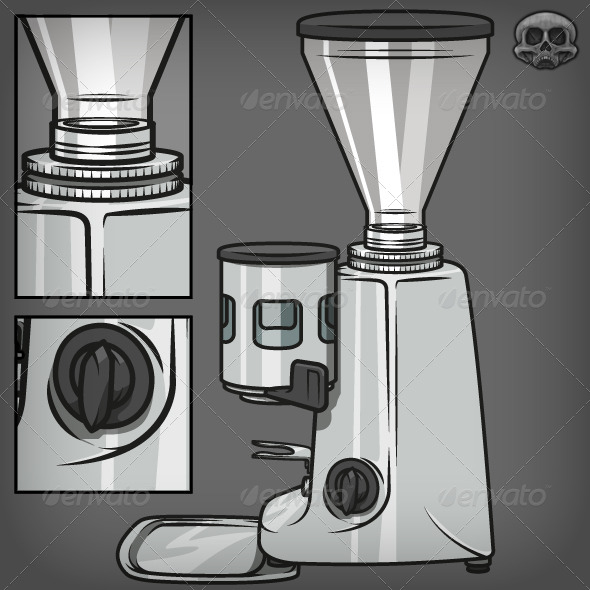 Coffee Grinder - Man-made Objects Objects