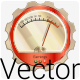 Vector Retro Any Meter Gauge - GraphicRiver Item for Sale