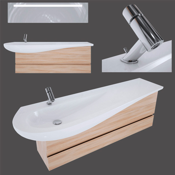 Laufen Il bagno Alessi One - 3DOcean Item for Sale