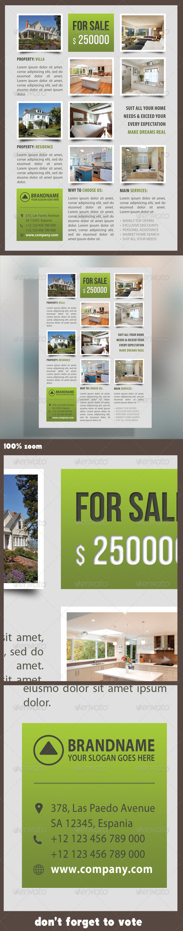 Real Estate Corporate Flyer 11 - Commerce Flyers