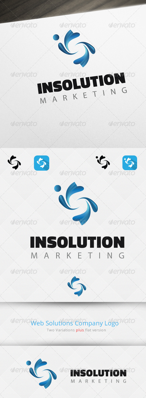 Abstract S Letter Logo Template - Letters Logo Templates