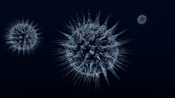 3D Virus - 3DOcean Item for Sale