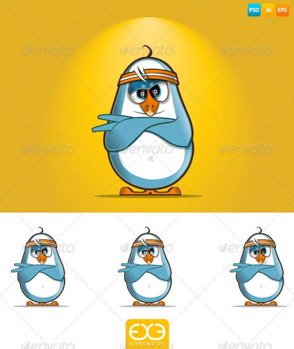 Penguin - Animals Illustrations