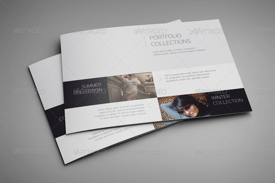 Landscape Brochure MockUp By EugeneDesign  Graphicriver