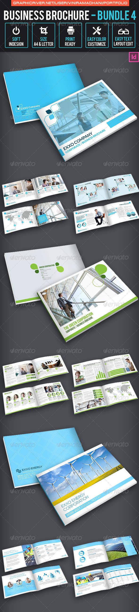 Business Brochure Bundle 4 - Corporate Brochures