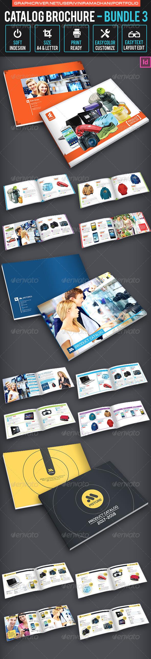 Catalog Brochure bundle 3 - Catalogs Brochures