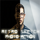 Retro  Skech Photo Action - GraphicRiver Item for Sale