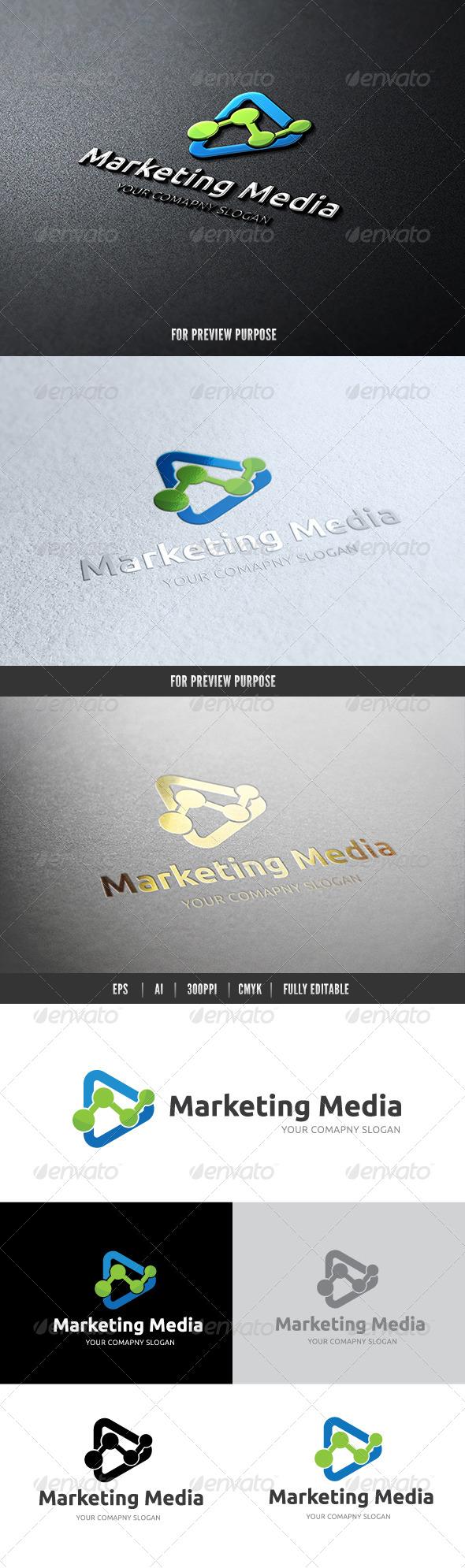 Marketing Media - Abstract Logo Templates