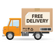 Delivery truc - GraphicRiver Item for Sale