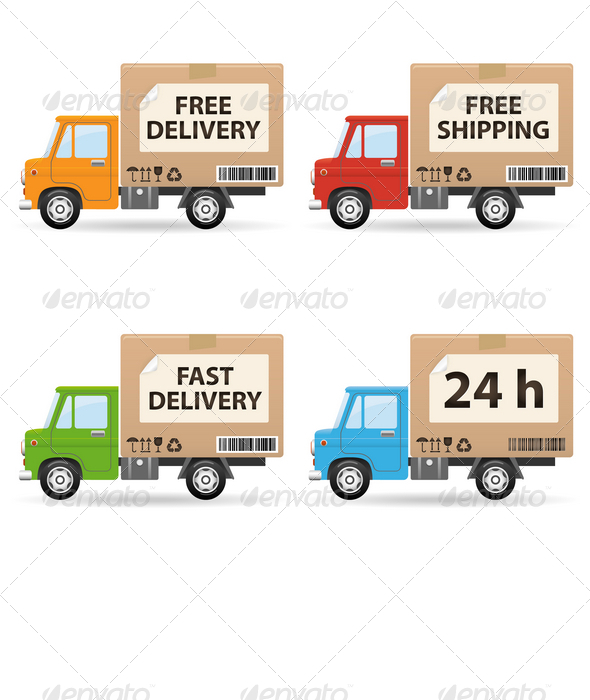 Delivery truc - Services Commercial / Shopping