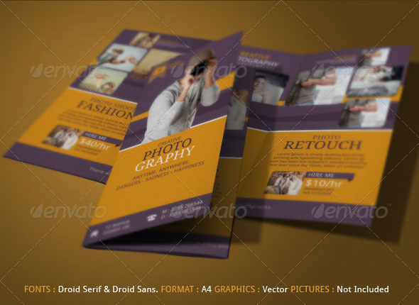 Photography Brochure By Smartosmoz  Graphicriver