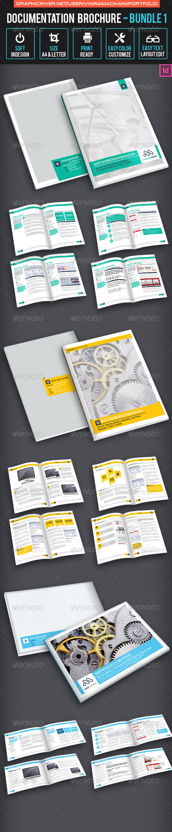Documentation Brochure Bundle 1 - Informational Brochures