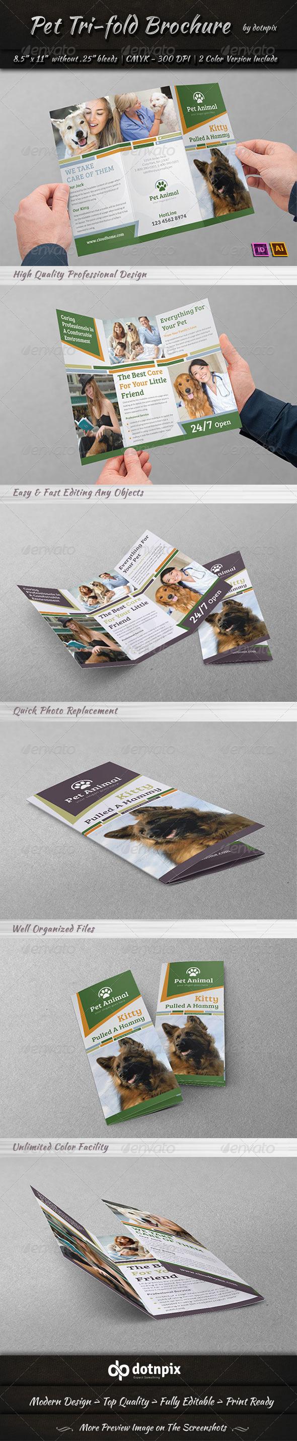 Pet Tri-Fold Brochure - Corporate Brochures