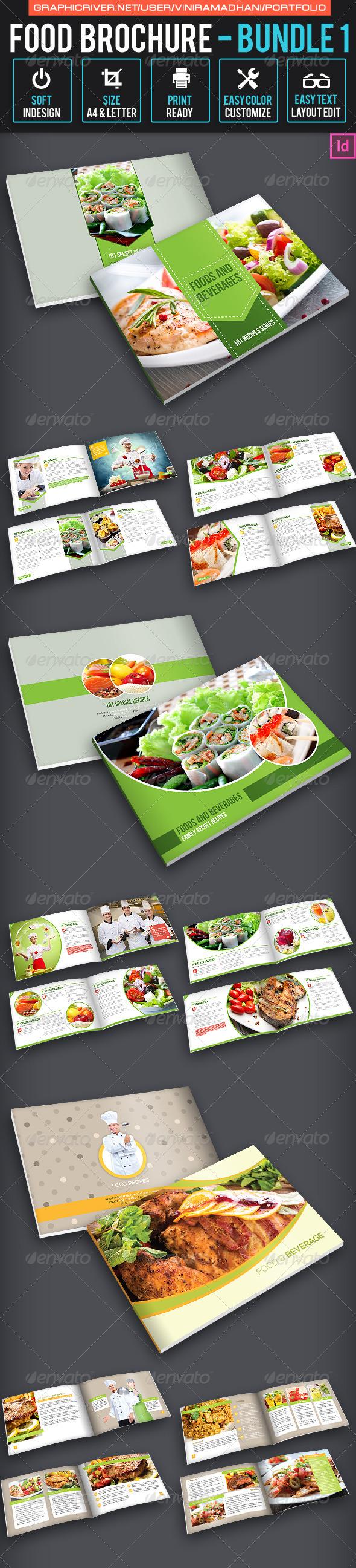 Food Brochure Bundle 1 - Catalogs Brochures