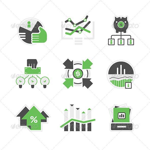 Business Analysis Icons - Business Icons