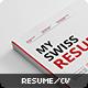 Swiss Resume+ - GraphicRiver Item for Sale