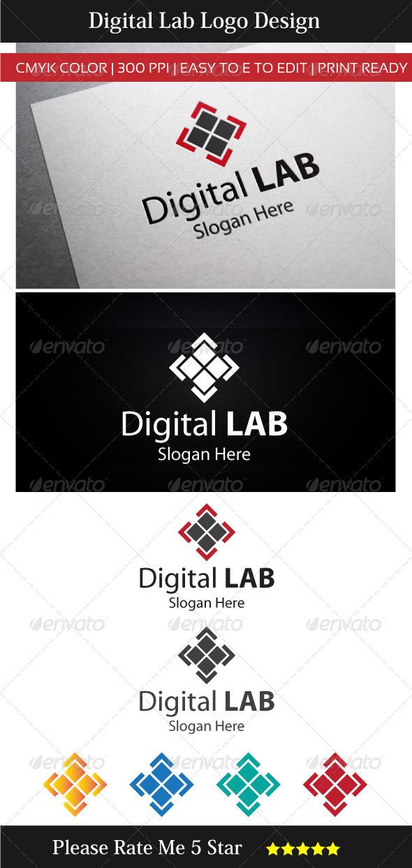 Digital Technology Lab Logo - Symbols Logo Templates