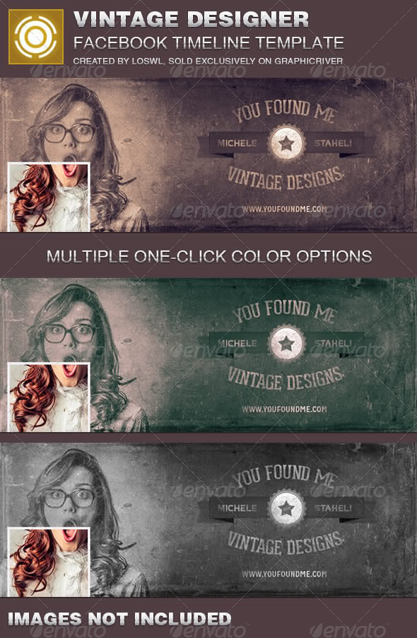 Vintage Designer Facebook Timeline Cover Template - Facebook Timeline Covers Social Media
