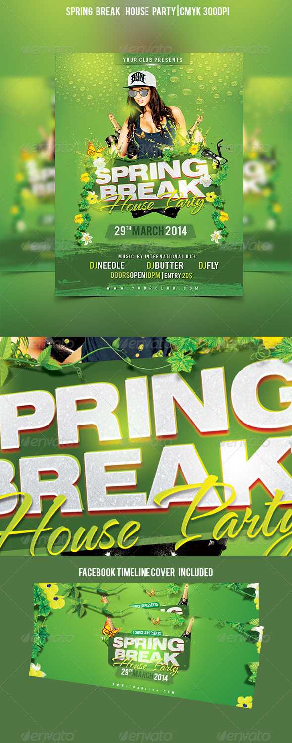 Spring Break House Party - Clubs & Parties Events
