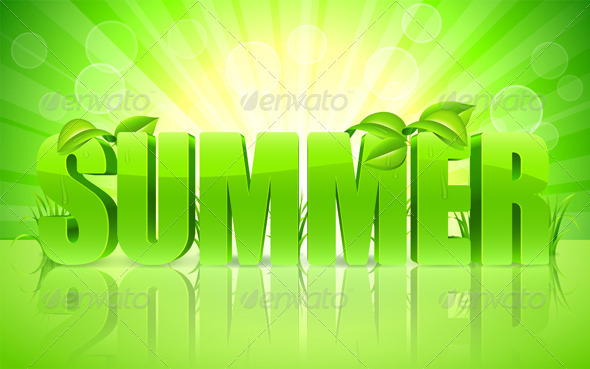 Summer Background - Seasons Nature