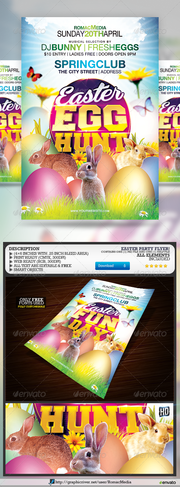Easter Egg Hunt/Fun Day - Holidays Events