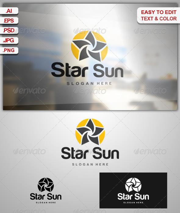 Star Sun - Vector Abstract
