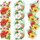Garland of Hibiscus Flowers - GraphicRiver Item for Sale