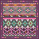 Seamless Colorful Aztec Geometric Pattern - GraphicRiver Item for Sale