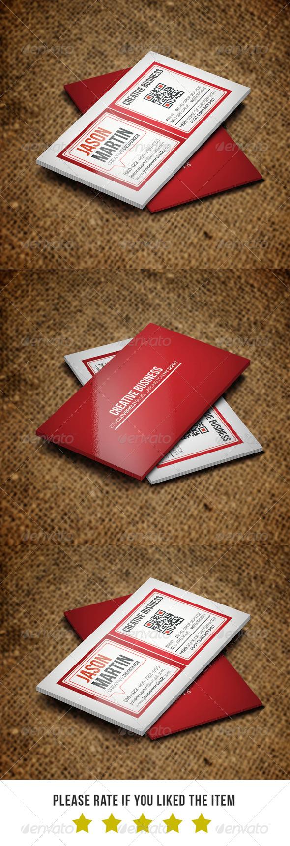 Creative Business card BNA 0015 - Creative Business Cards