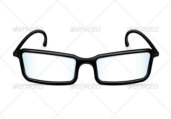 Eyeglasses - Objects Vectors