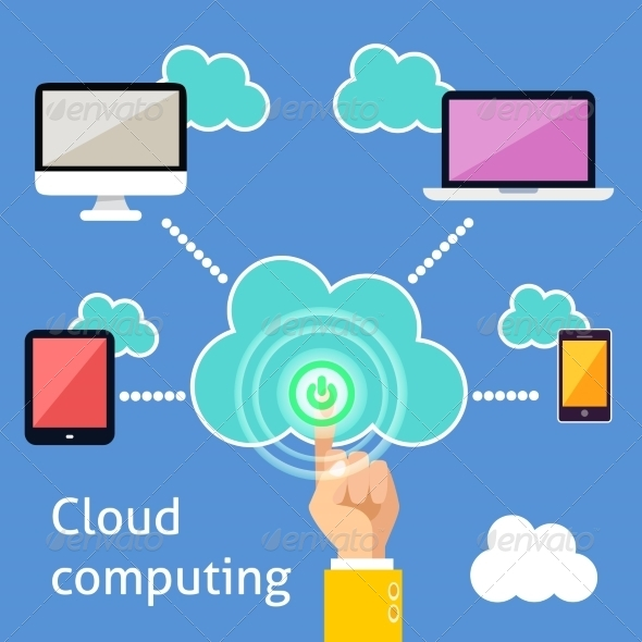 Cloud Computing Infographic - Computers Technology