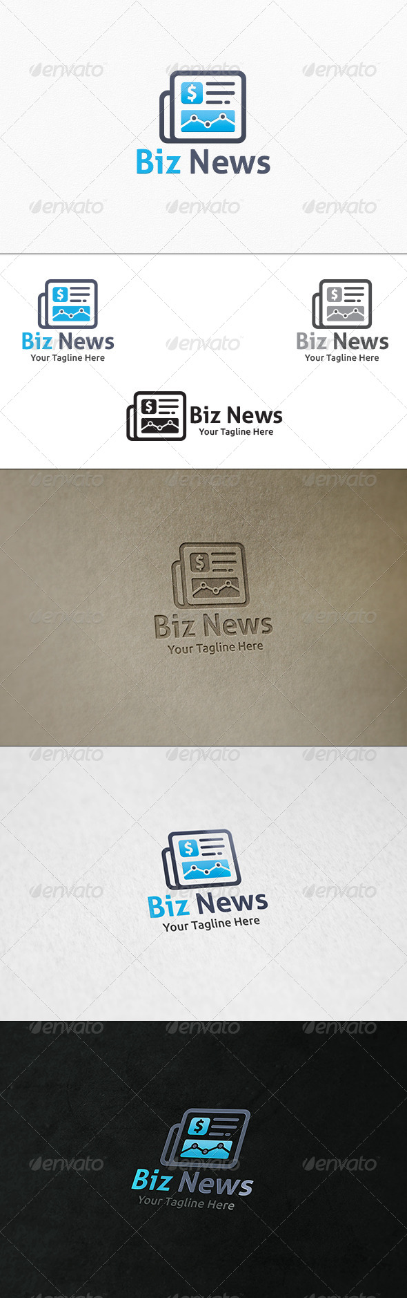 Business News - Logo Template - Objects Logo Templates