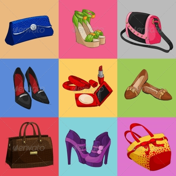 Women Bags Shoes and Accessories - Retail Commercial / Shopping