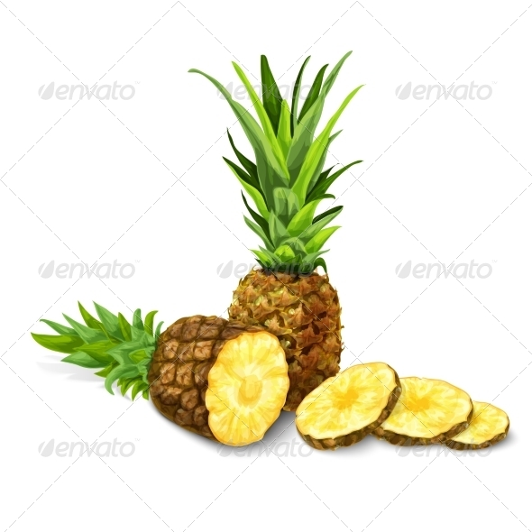 Pineapple - Food Objects