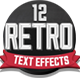 12 Various 3D Retro & Vintage Text Effects for Photoshop - GraphicRiver Item for Sale