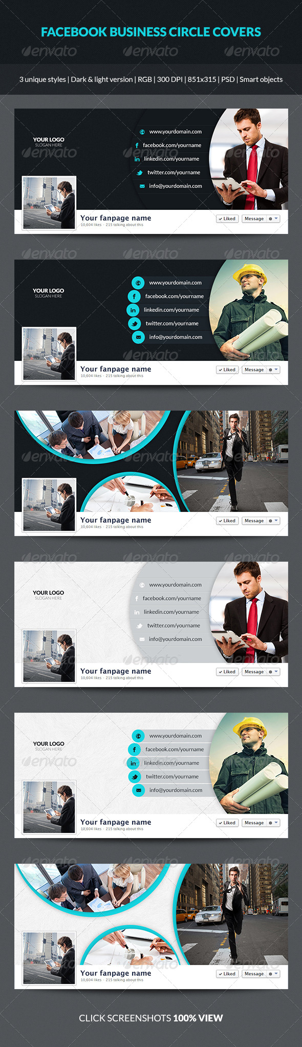 Facebook Business Circle Covers - Facebook Timeline Covers Social Media