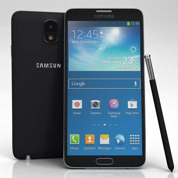 Samsung Galaxy Note 3 - 3DOcean Item for Sale