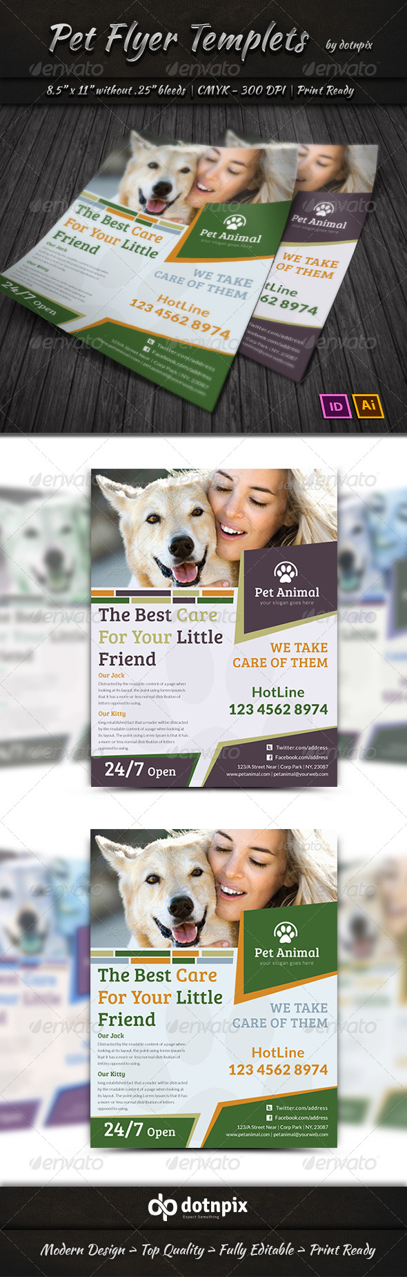 Pet Flyer Templets - Corporate Flyers
