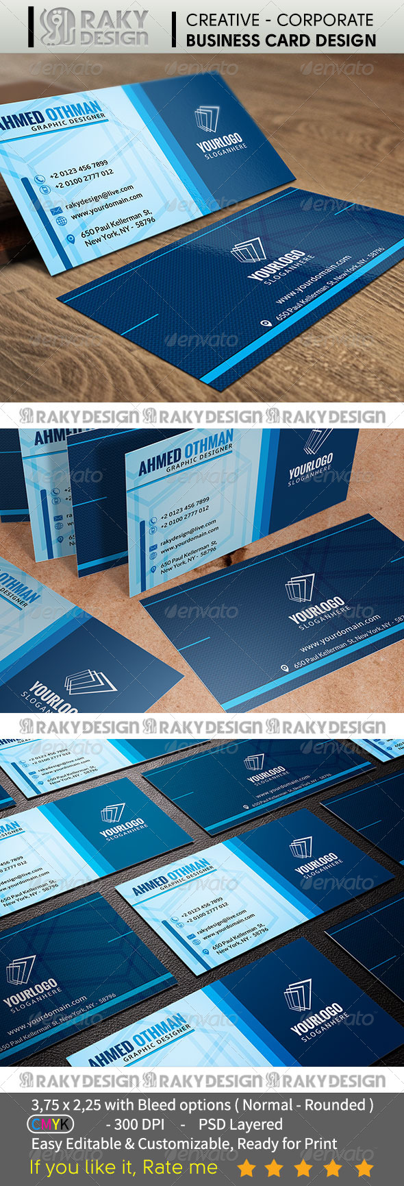 Corporate Business Card V02 - Corporate Business Cards