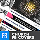 Church/Christian Themed FB Cover Bundle (4in1) - GraphicRiver Item for Sale