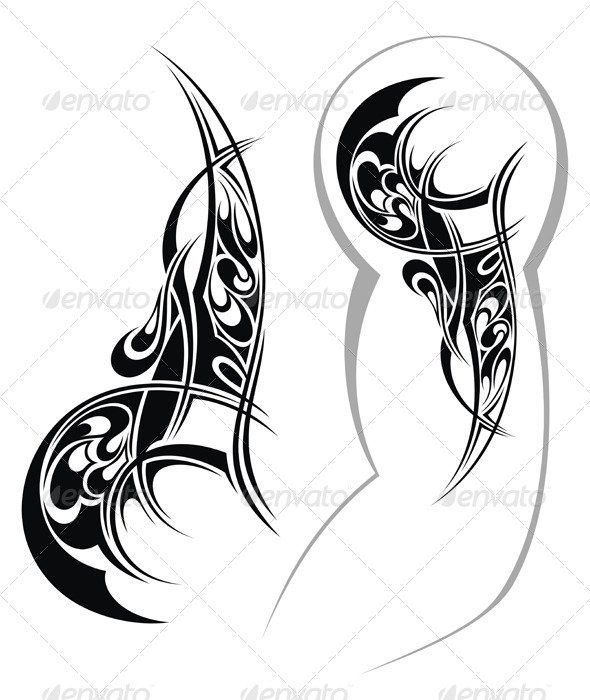 Tattoo Design - Tattoos Vectors