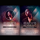 Electro Indie Music Flyer Template - GraphicRiver Item for Sale