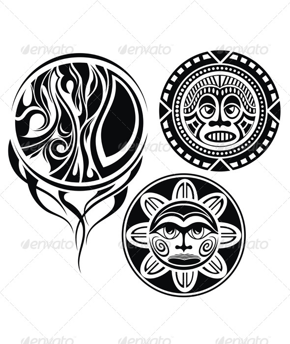 Masks - Decorative Symbols Decorative