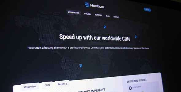 Hostium – Responsive Hosting Theme
