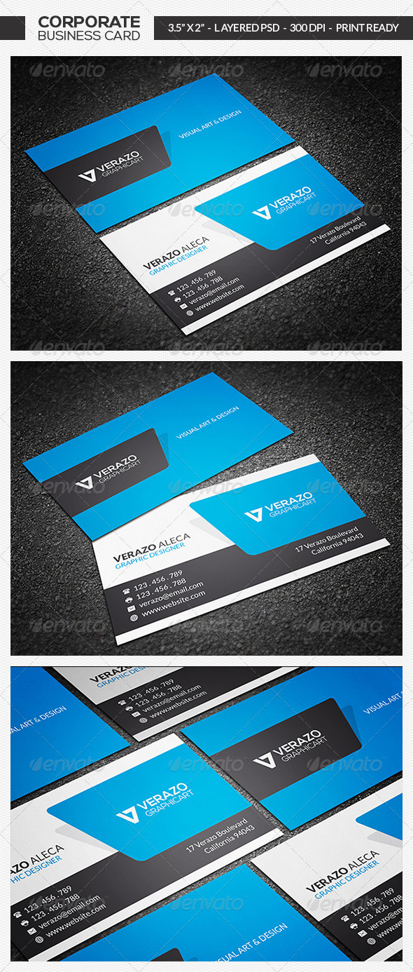 Modern Business Card 17 - Corporate Business Cards