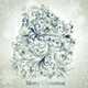 Holiday card with christmas tree - GraphicRiver Item for Sale