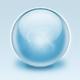 3D Blue glossy aqua sphere - GraphicRiver Item for Sale