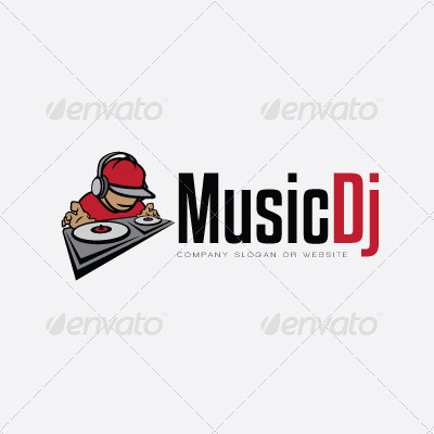 Music Dj Logo by maioriz | GraphicRiver