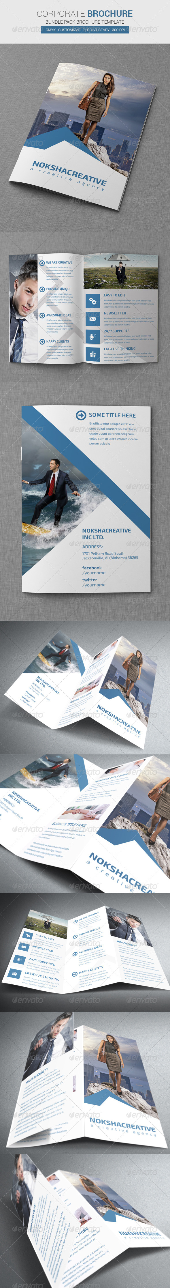 Corporate Brochure Bundle Pack - Corporate Brochures